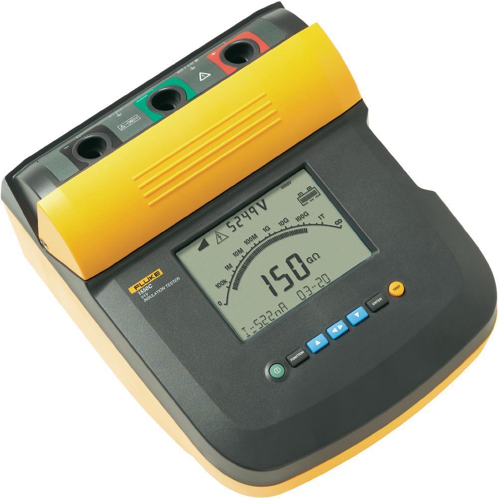 美国福禄克Fluke 1555/1550C绝缘电阻测试仪,数字兆欧表,数字摇表