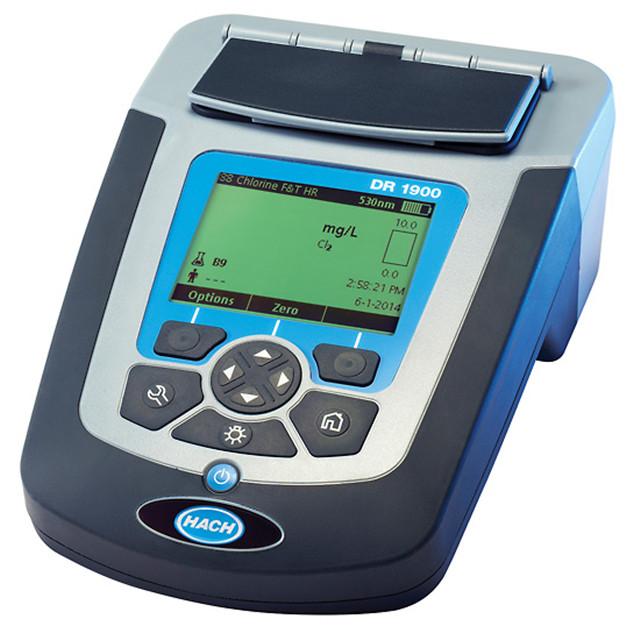 美国哈希HACH DR1900便携式多参数分光光度计 水质分析仪 COD测试仪 比色法水质微信免费红包群号