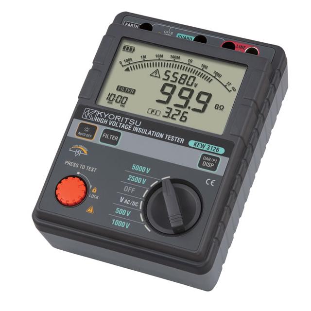 日本共立克列茨KYORITSU 绝缘电阻测试仪 KEW 3126