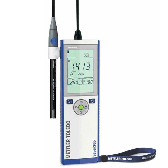 瑞士梅特勒 Seven2Go 便携式 pH/mV 计